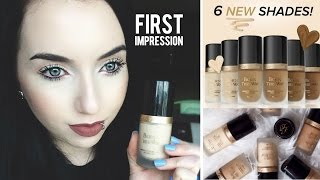 Too Faced Born This Way Foundation FIRST IMPRESSION & GIVEAWAY | New Shades!