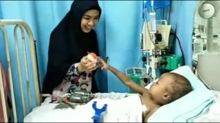 Viral Oki Setiana Dewi Datang Melawat Anak Bazli UNIC Yang Menghidapi Kanser Selepas GGV