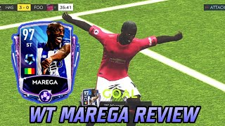 WT MAREGA GAMEPLAY AND REVIEW! HOW GOOD IS HE? CHEAP BEASTS IN FIFA MOBILE 20!