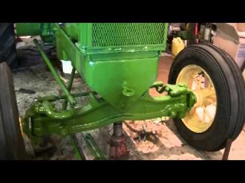 Antique John Deere Wheel Alignment Front and Rear Axle - zeketheantiquefreak