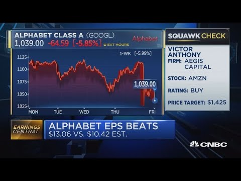Alphabet shares fall 5 percent after revenue miss