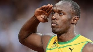Impresionante: Usain Bolt se tropezó y ganó igual - 100 m -Mundial de atletismo Pekin 2015 thumbnail