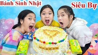 Tự Làm Bánh Sinh Nhật Siêu Bự - Trang Vlog