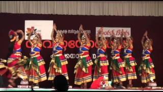 kerala university festival nadodi nritham ( kerala folk dance)