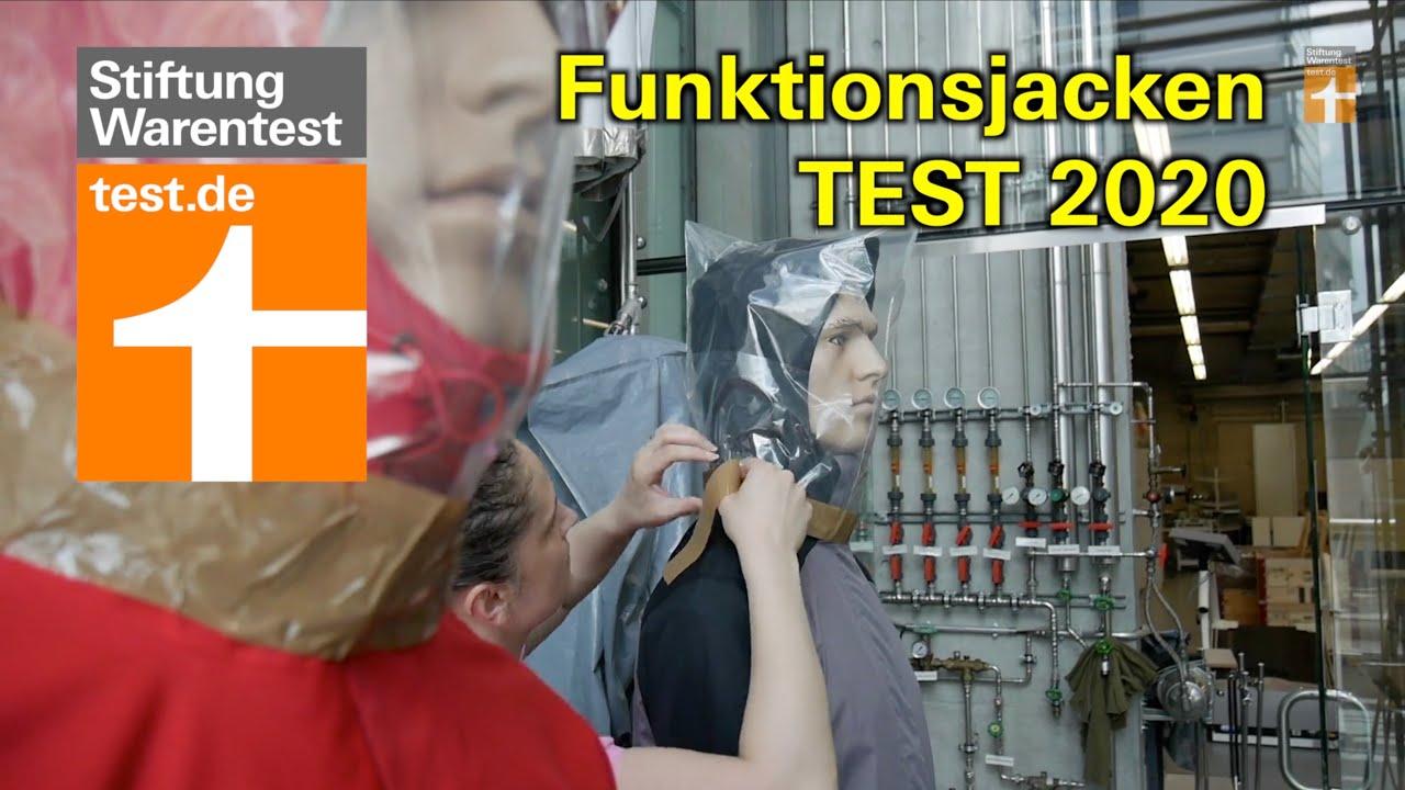 Funktionsjacken Test 2020: Sind PFC-freie Outdoorjacken dauerhaft regendicht? (Stiftung Warentest)