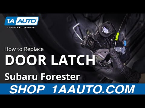 How to Replace Door Latch & Lock Actuator 13-18 Subaru Forester