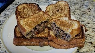Gambar cover Ground Beef Philly Cheese Sandwiches