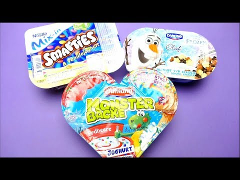Thumbnail: MONSTER BACKE Frozen and Smarties Joghurts