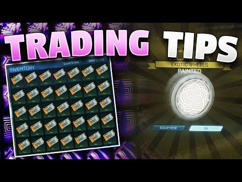 Best Trading Tips For Rocket League Beginners