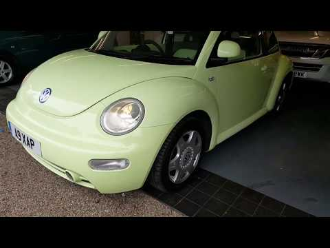 VW Beetle Concept Colour