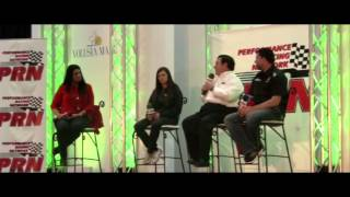 PRN Up to Speed - Tony Stewart and Danica Patrick
