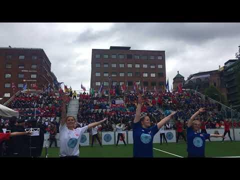 Homeless World Cup 2017 åpningsseremoni i Oslo