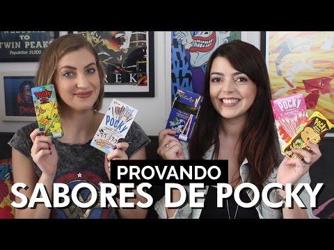 Sabores diferentes de Pocky | Carol Moreira e Lia Camargo