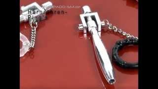 Strappado-SM Produkte: Harnröhren-Plugs / urethral plug
