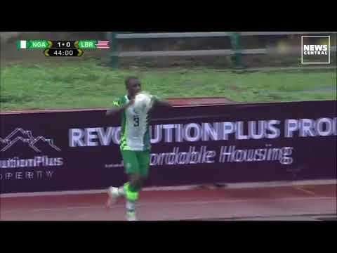 Watch Incredible Kelechi Iheanacho's Second Goal | Nigeria vs Liberia (2-0) | WorldCup Qualifiers