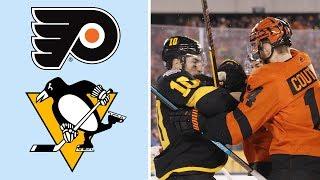 Flyers erase 3-1 deficit, win Stadium Series in OT   NHL   NBC Sports