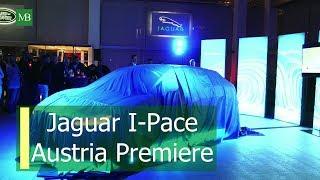 Jaguar I-Pace, the electric Car from Jaguar at the Austria Premiere.