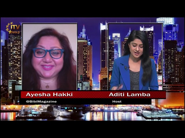 Events Industry During COVID-19 -  Ayesha Hakki Advises Brides & Grooms - ITV Gold Skype