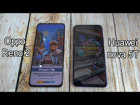 Oppo Reno 2 vs Huawei nova 5T | SpeedTest and Camera comparison