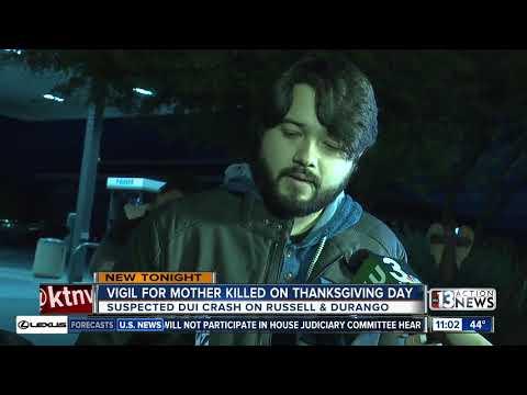 Vigil Held For Mother Killed In Suspected DUI Crash
