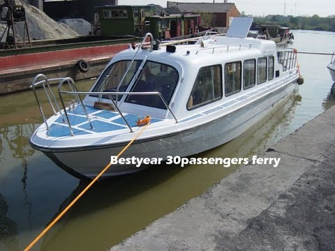 For Sale: China Commercial Passenger Boat 13.7m 20m - USD 63,000