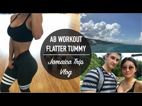 My TOP 3 Ab Exercises for a Defined Tummy | JAMAICA Vlog