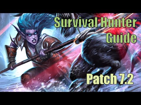 Survival Hunter Guide for Patch 7.2.5