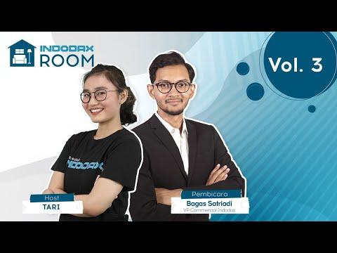 indodax-room-vol.-3:-tips-sukses-trading-aset-kripto-bersama-bagas-satriadi,-vp-commercial-indodax!