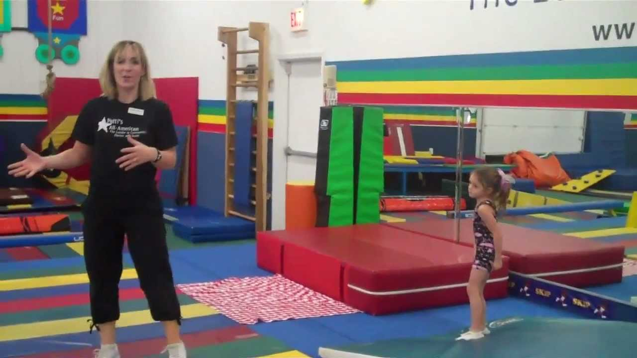 how to teach yourself gymnastics