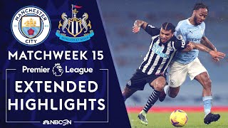 Manchester City v. Newcastle | PREMIER LEAGUE HIGHLIGHTS | 12/26/2020 | NBC Sports
