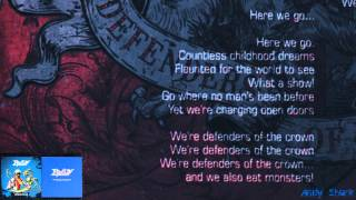 Edguy - Defenders Of The Crown (Space Police) + Letra 2014 HD