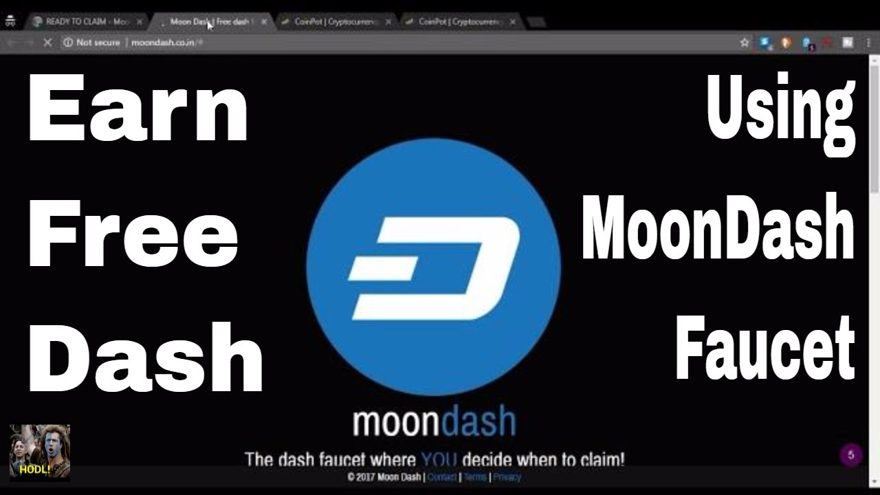 Earn free dashcoin with the moon dash faucet 5 - Betting exchange