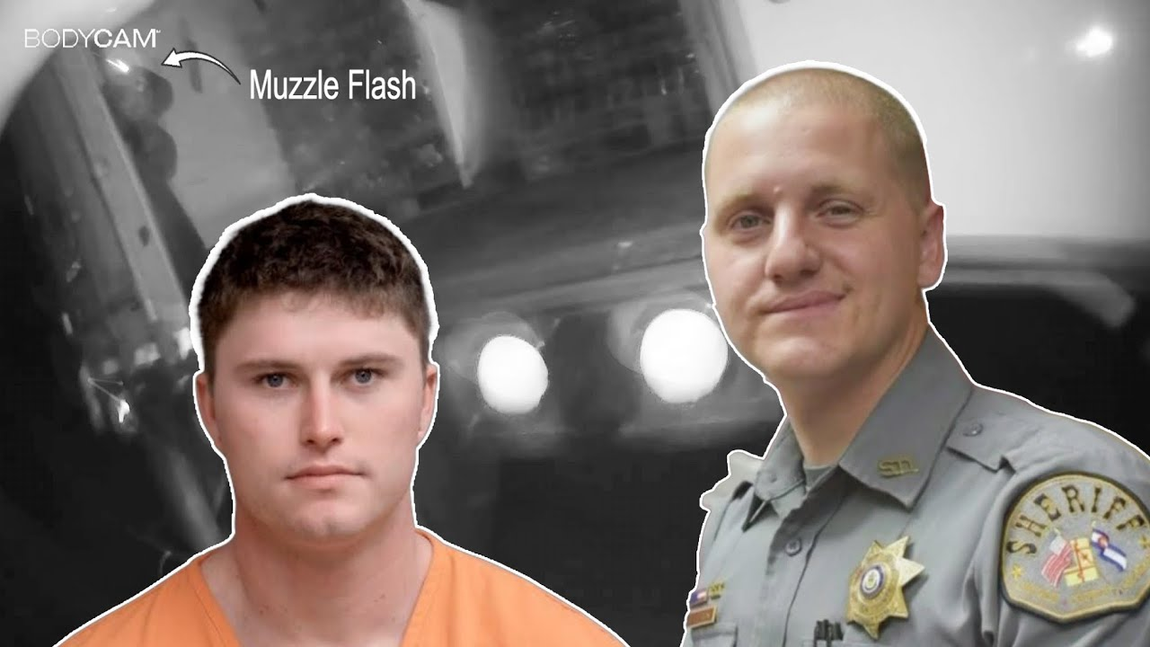 Body Cam: Officer Shot 3 Times in an Ambush Style Attack Lincoln County Sheriff's Office May 20-2021