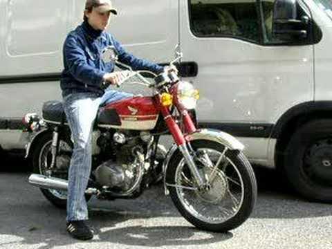 moto honda 350 cb