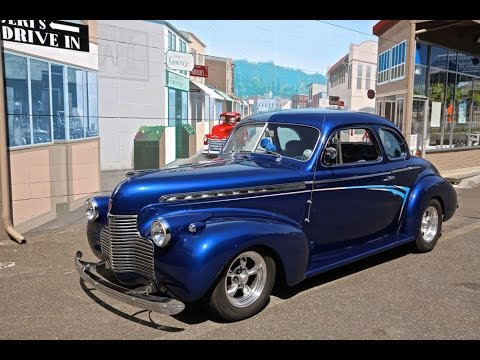 40 Chevy Street Rod Coupe going toJoe's Old School Garage Drager's  206-533-9600