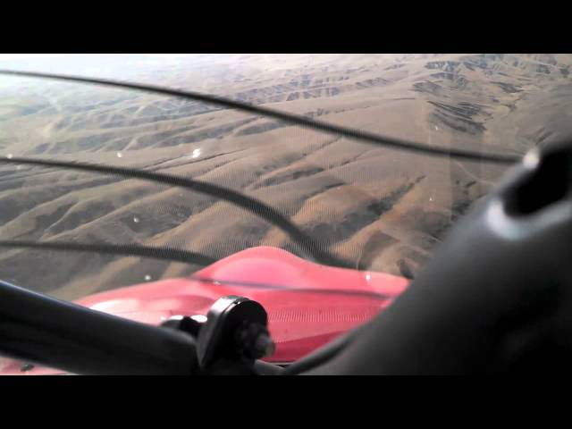 Landing at Mercey Hot Springs