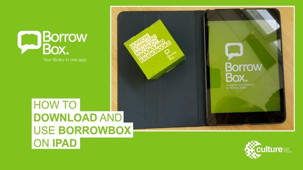 BorrowBox | CultureNL