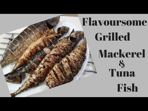HOW TO GRILL A FLAVOURSOME TUNA AND MACKEREL FISH
