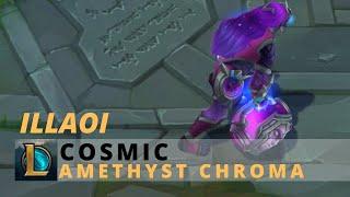 Cosmic Illaoi Amethyst Chroma - League Of Legends