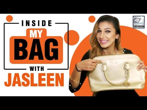 Inside My Bag With Jasleen Matharu | Bigg Boss 12 Contestant | Exclusive