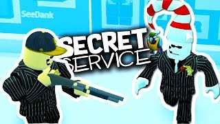 SECRET SERVICE MODE IN JAILBREAK *MOST WANTED ARREST*