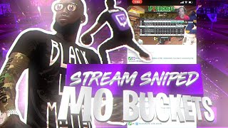 🚨NEW🚨 I STREAMED SNIPED @Mo Buckets📱🎥  & HE BANNED ME FROM HIS CHAT 😔❌😭