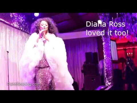 The Billion-Dollar Cake - behind-the-scenes (Diana Ross performs)
