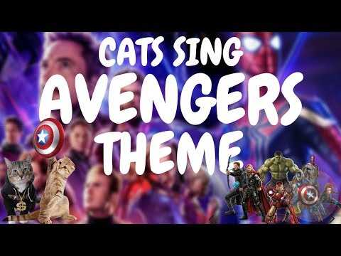 Cats Sing Avengers Theme | Cats Singing Song