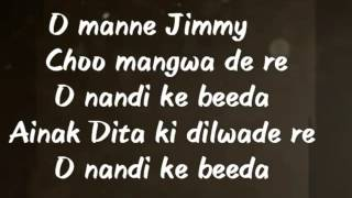 Jimmy choo lyrics
