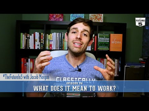 What Does It Mean To Work?