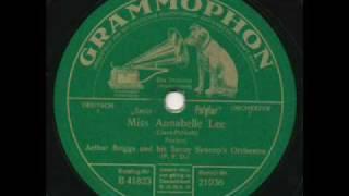 Arthur Briggs Savoy Syncops, Miss Annabelle Lee. Berlin 1927