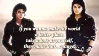 Michael Jackson - Man in the Mirror Karaoke