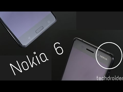 Nokia 6 User Interface