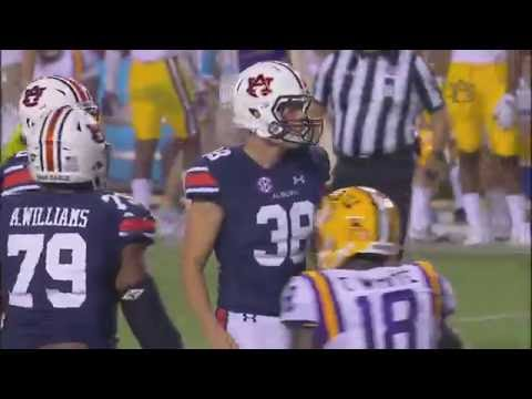 Auburn Football Defeats LSU 18-13